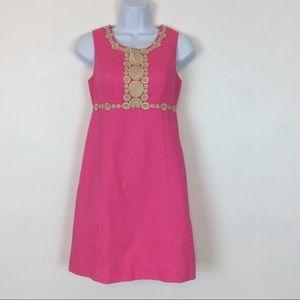 Lilly Pulitzer Rosie Shift Dress Hotty Pink